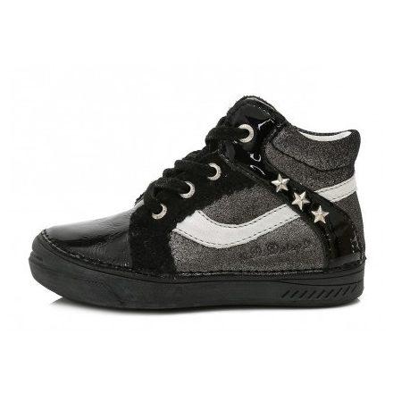 D.D.step fekete átmeneti lány cipő