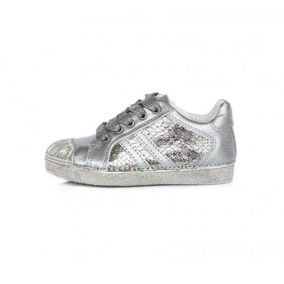 D.D.step ezüst lány cipő