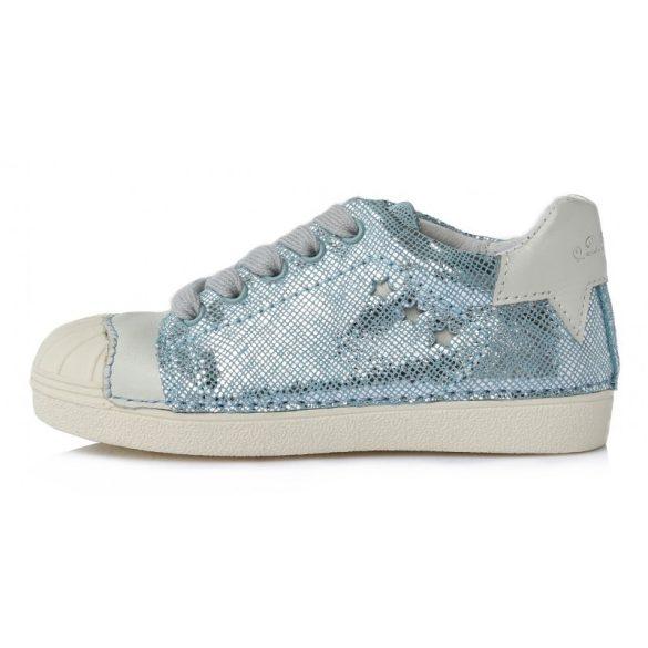 D.D.step  kék csillogó lány cipő