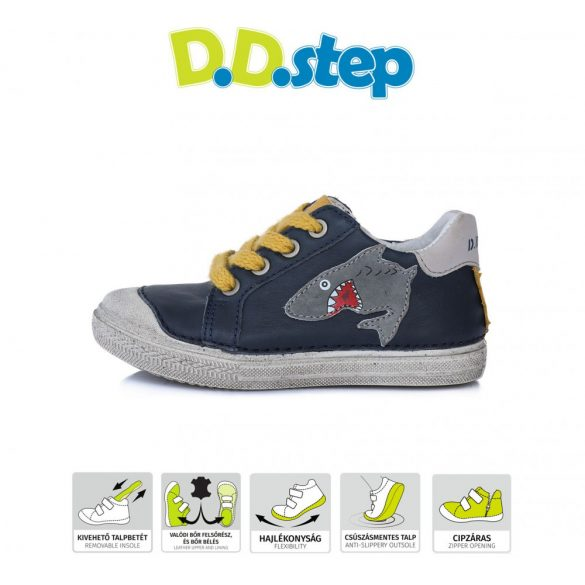 D.D.step oldalt húzózáras fiú cipő