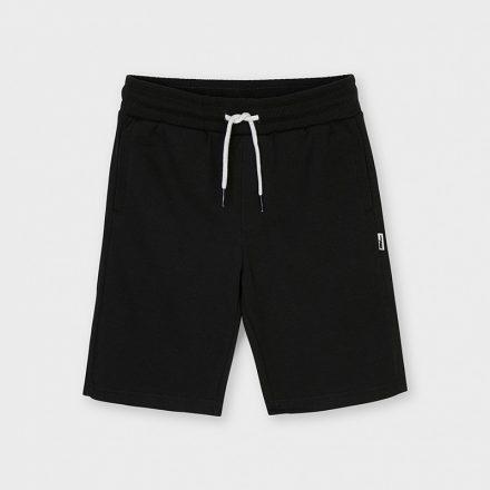 Mayoral fekete futter pamut fiú rövidnadrág