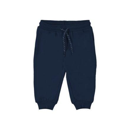 Mayoral bolyhos kék melegítő fiú nadrág