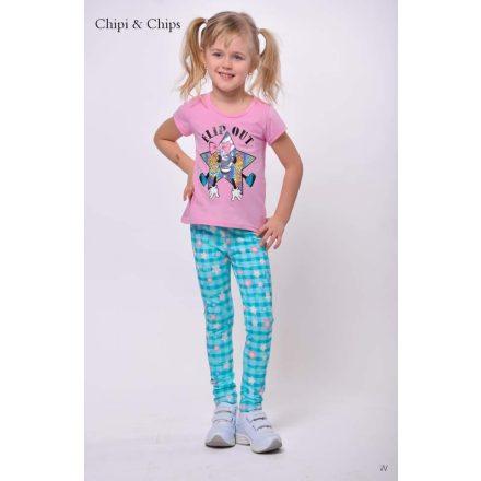 Chipi & Chips türkiz lány nadrág