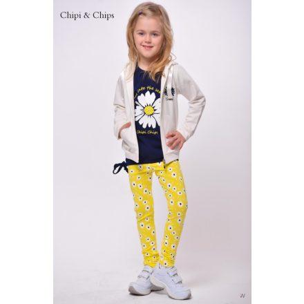 Chipi & Chips sárga margaréta lány nadrág