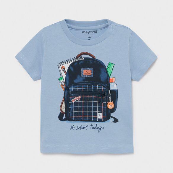 Mayoral kisfiú interaktív mintás póló