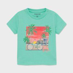 Mayoral türkiz színű kisfiú póló