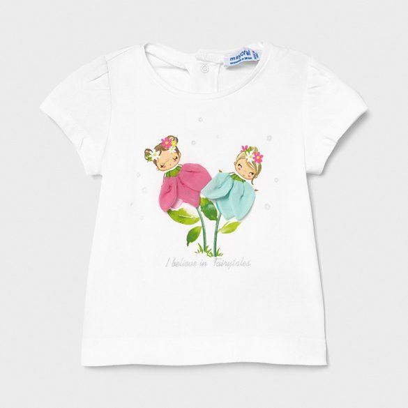 Mayoral virágtündéres kislány póló