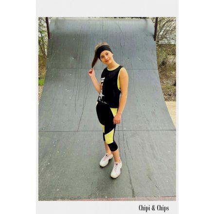 Chipi & Chips topp póló leggings együttes
