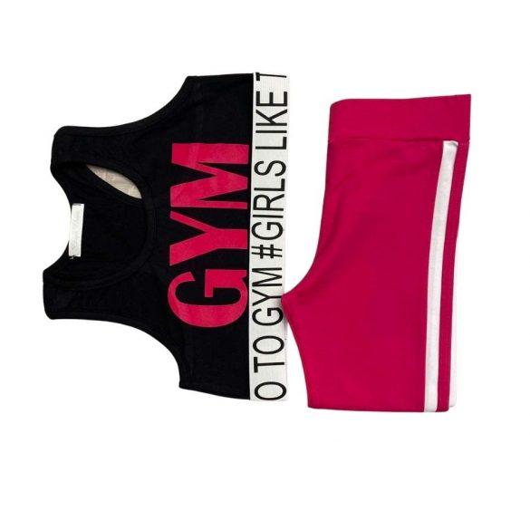 Chipi & Chips pink rugalmas leggings nadrág