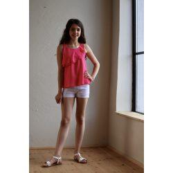Chipi & Chips pink fodros lány tunika