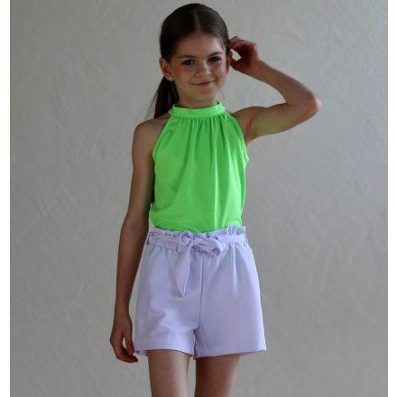 Chipi & Chips fehér öves lány rövidnadrág