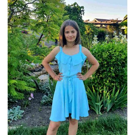 Chipi & Chips türkíz nyári lány ruha
