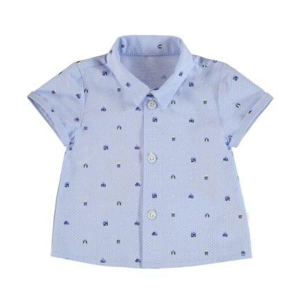 Mayoral kék mintás fiú ing