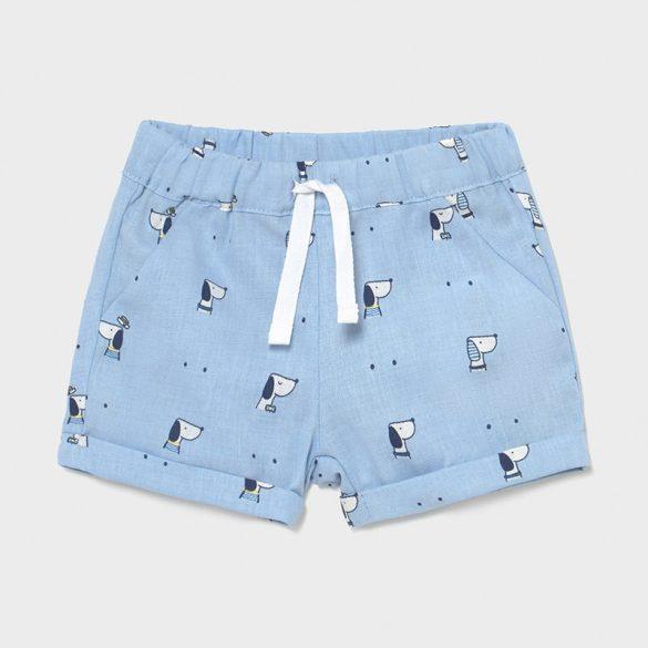 Mayoral fiú kék mintás rövidnadrág
