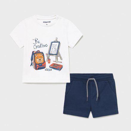 Mayral nyári rövidnadrág póló fiú szett