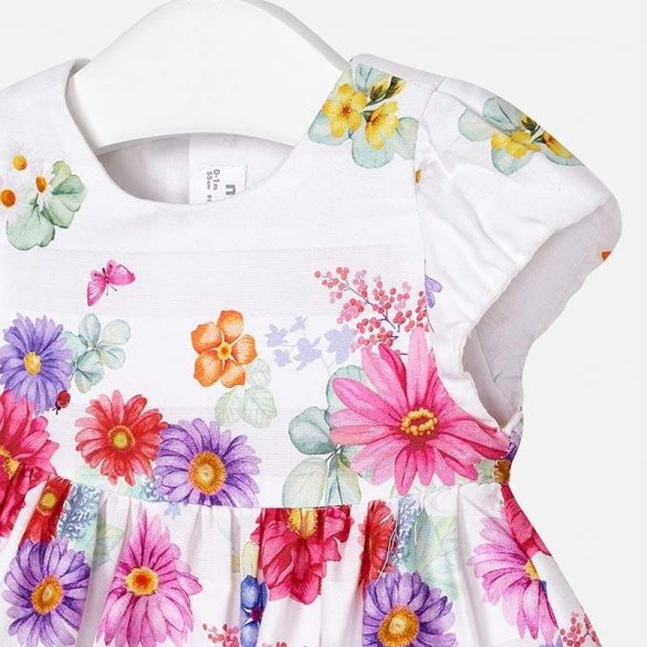Mayoral virágos lány ruha
