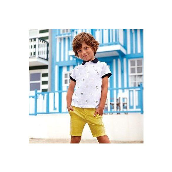 Mayoral sárga fiú rövidnadrág