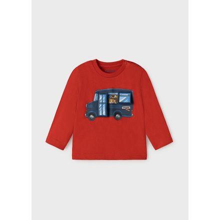 Mayoral interaktív busz mintás fiú póló