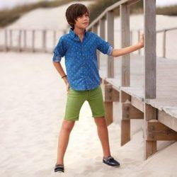 Mayoral fiú kheki rövidnadrág