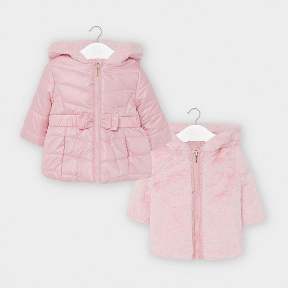 Mayoral kislány  kifordítható téli kabát