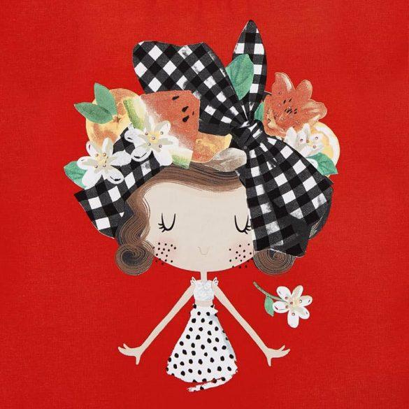 Mayoral lány rövid ujjú piros póló