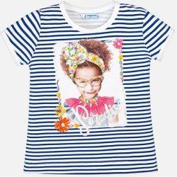 Mayoral csíkos lány póló