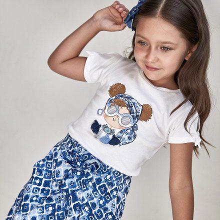 Mayoral kislány csüngőkkel díszített rövid ujjú póló