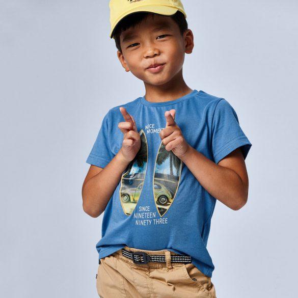 Mayoral fiú kék pálmafa póló