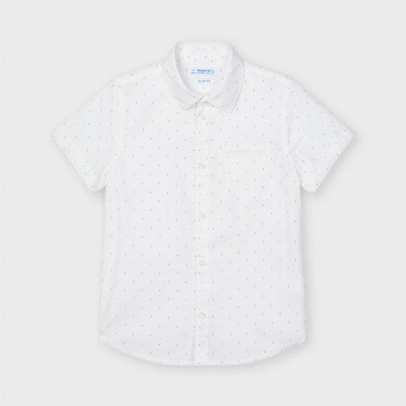 Mayoral  magában mintás fehér ing