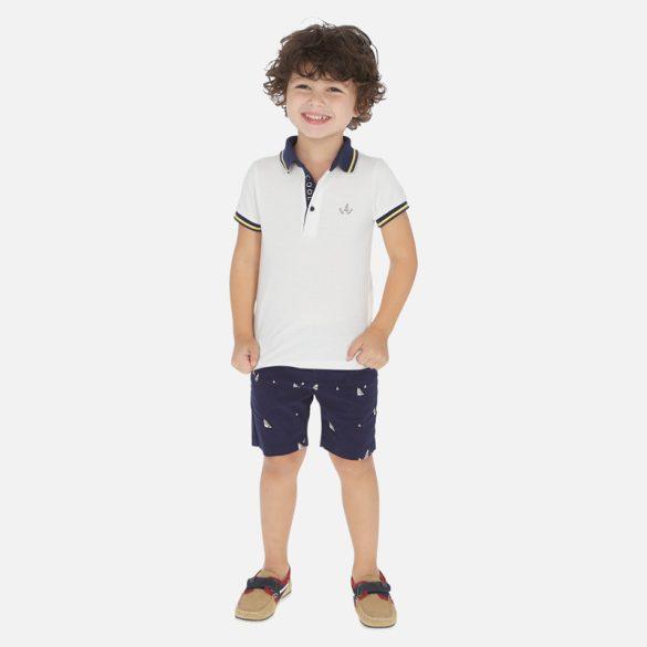 Mayoral rövidnadrág galléros fiú póló együttes