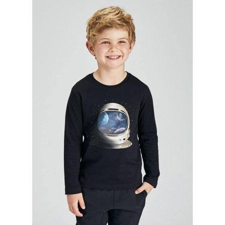 Mayoral hologram asztronauta mintás fiú póló 4089