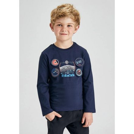 Mayoral hajtogatható interaktív mintás fiú póló 4090