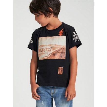 Ido fiú Arizona fekete póló