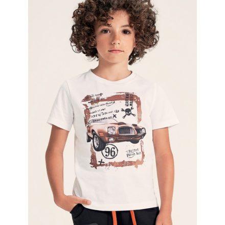 Ido fehér színű fiú póló