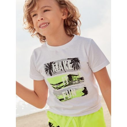 Ido tengerpart rövid ujjú fiú póló