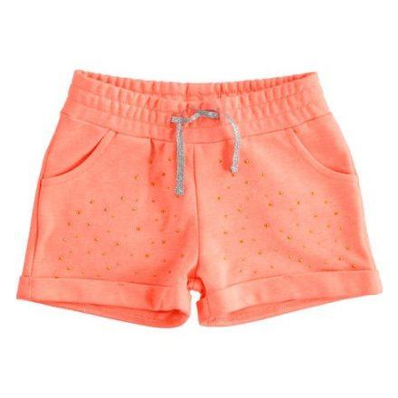 Ido neon coral színű lány rövid nadrág