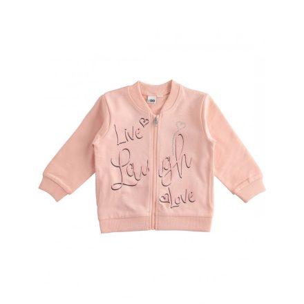 Ido rózsaszín kislány kardigán