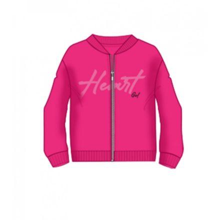 Ido pink lány futter kardigán