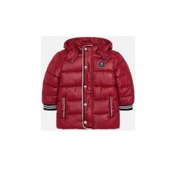 Mayoral bordó téli pufi fiú kabát