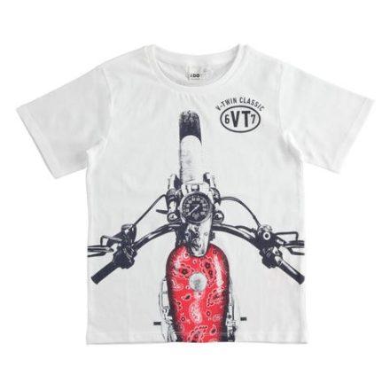 Ido motor mintás fiú póló