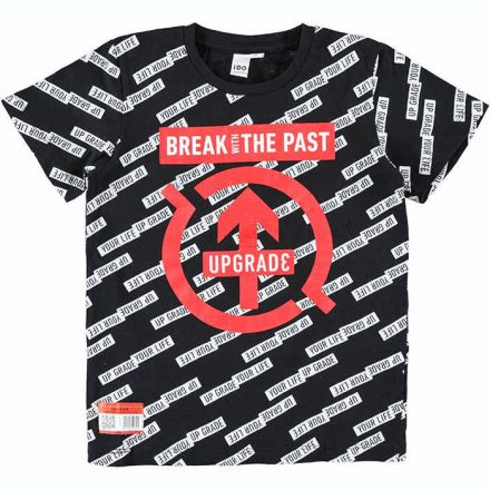 Ido betű feliratos fiú póló