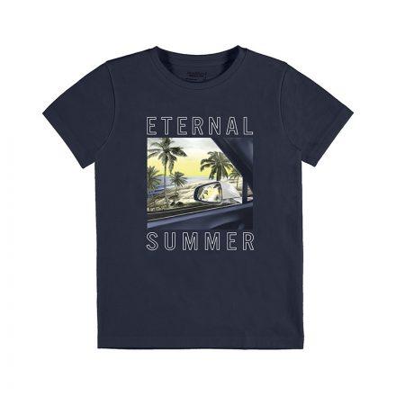 Mayoral kék tengerpart mitás'00 fiú póló
