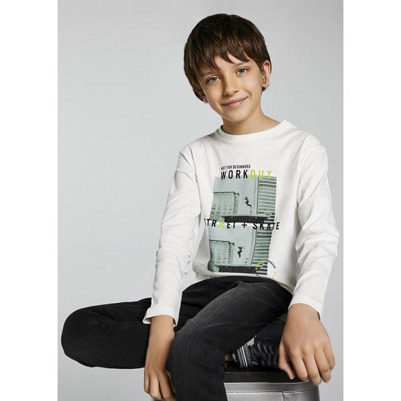 Mayoral ecofriends pamut fiú póló 7007