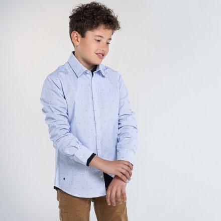 Mayoral karcsúsított mintás fiú ing