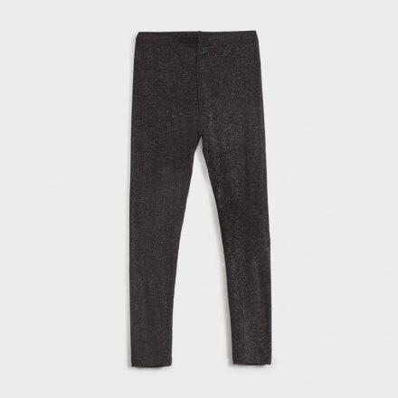 Mayoral bordázott enyhén csillogó fekete leggings