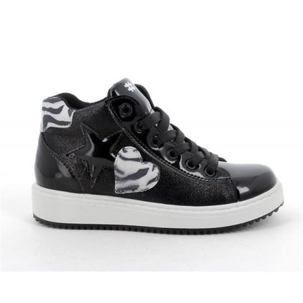 Primigi magasszárú fekete lány cipő