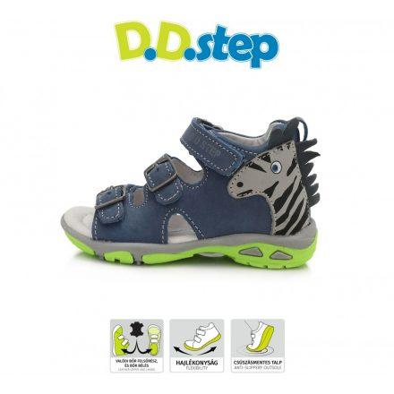 D.D.step zebra mintás fiú szandál