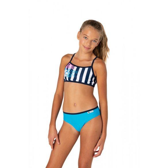 Cocobana kék toppos lány fürdőruha