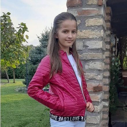 Chipi & Chips átmeneti steppelt lány kabát