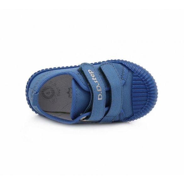 D.D.step fiú vászon kék cipő
